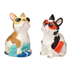 Frenchies Salt and Pepper Shakers, 3 oz.