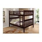 Whitney Bunk Bed, Full Over Full