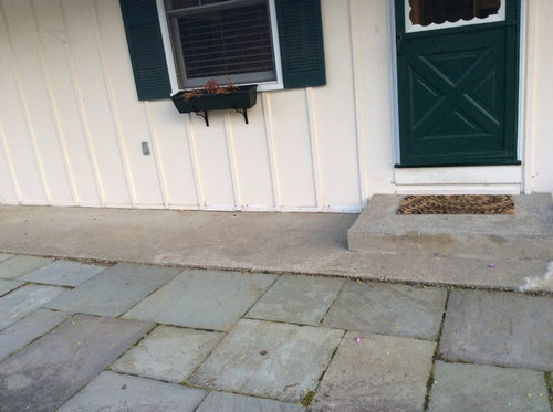 Need Ideas For Front Porch Tiles Stone