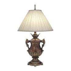 Stiffel Table Lamp, Amber Tortoise Shell