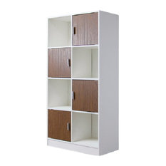 Baxton Studio Chateau Bookcase