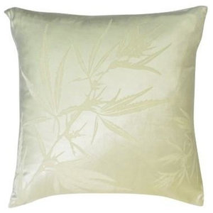 Plant on Ivoire Pillow, 61x61cm
