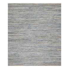 Safavieh Cape Cod Collection CAP351 Rug, Natural/Blue, 9'x12'