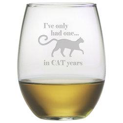 Contemporary Wine Glasses by Susquehanna Glass Company
