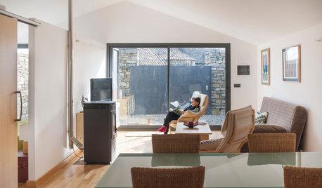 Casas Houzz: Un hogar con sabor rústico en un pueblo de 13 habitantes