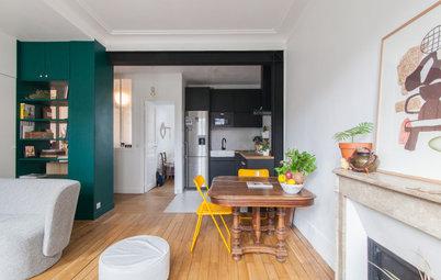 Visite Privée : Quand la couleur souligne joliment l'architecture