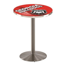 Georgia -inchBulldog-inch Pub Table 36-inchx42-inch by Holland Bar Stool Company