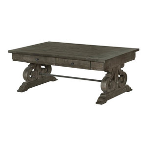 Magnussen Bellamy Coffee Table, Weathered Pine