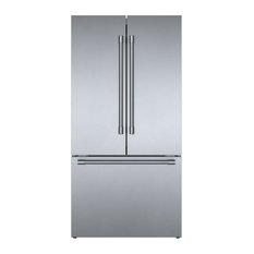 Bosch 36 French Door Refrigerator, Stainless Steel