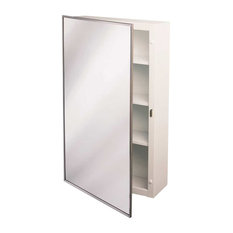Surface Mount Steel Medicine Cabinet 16 X22 Chrome Cabinets