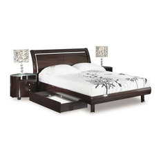 Global Furniture USA   Emily Bedroom Set By Global Furniture USA, Wenge,  King
