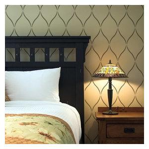 Serenity Allover Stencil, Easy Trendy Beautiful Stencils For DIY Home Decor