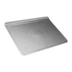 USA Pan Aluminuzed Steel  14 x 14 Inch Cookie Sheet