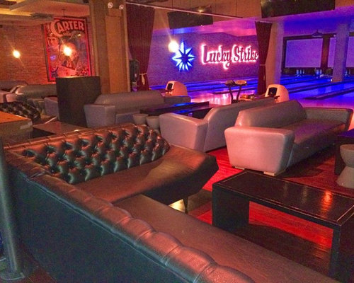 Custom Tufted Banquettes For Lucky Strike Nyc
