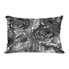 """Midnight Garden"" Outdoor Throw Pillow by Julia Di Sano, 14""x20"""