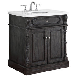 Traditional Bathroom Vanities And Sink Consoles by Crawford & Burke