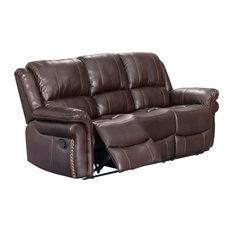 Sunset Trading Glorious Dual Reclining Sofa | Manual | Brown