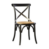 Parisian Side Chair With Steam-Bent Wood, Set of 2
