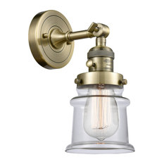 "Innovations Lighting 203SW Small Canton Small Canton 1 Light 11"", Brass"