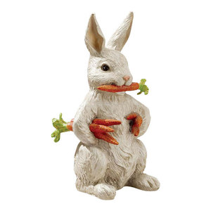 Franz Porcelain Collection Rabbit S Spring Welcome Rabbit