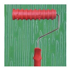 Embossed Paint Roller Wall Painting Runner Wall Decor DIY tool, Pattern 6