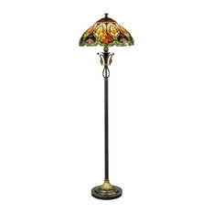 Dale Tiffany Tf50012 Sir Henry Floor Lamp