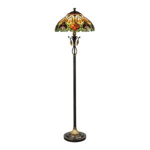Dale Floor Lamp Transitional Floor Lamps By Whiteline
