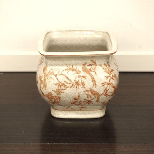 陶器のポット - 飾り壺・瓶