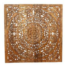 "Lotus Panel 48"" Square, Natural"
