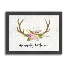 Dream Big Little One Boho Print
