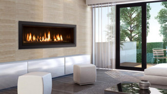 The Enviro C44 Linear Gas Fireplace