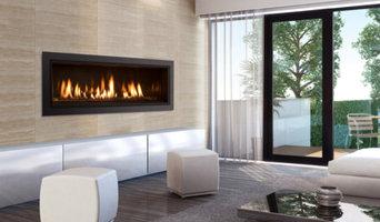 The Enviro C44 Linear Gas Fireplace