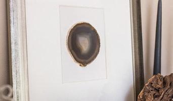 Framed Agate Slice