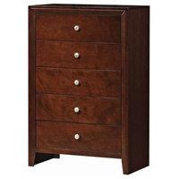 Elegant 5-Drawer Storage Dresser Cabinet Organizer Chest