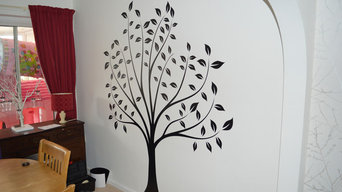 Large Decorative Wall Sticker