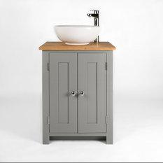 Timber Bathroom Vanity Cabinets Units Sink