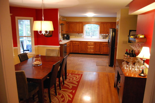Kitchen And Dining Room Paint Colors Countertops Lighting Help
