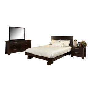 Ligna Zen Bedroom Set With Queen Bed By Ligna Furniture