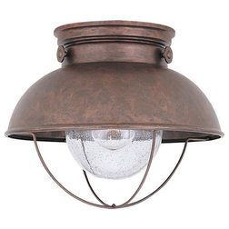 Beach Style Outdoor Flush-mount Ceiling Lighting by EliteFixtures