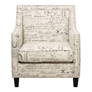 Gdf Studio Roseville Floral Design Club Chair