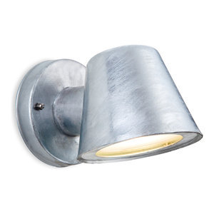 Elan LED Wall Light, Galvanised