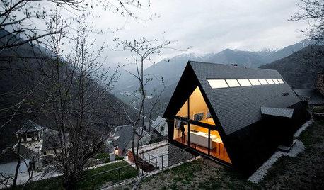 Houzz Испания: Дом для двух семей в горной долине