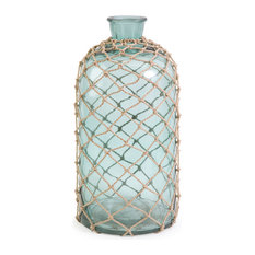 imax worldwide home cornell large jug with rope decorative jars and urns - Decorative Urns