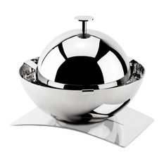 Rounded Albergo Caviar and Butter Holder