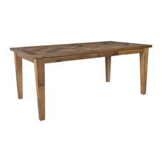 Bowen Reclaimed Parquet Dining Table by Kosas Home