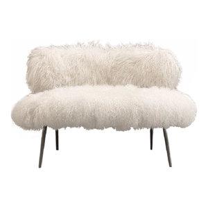 Nepal Faux Fur Chair  EcoFirstArt