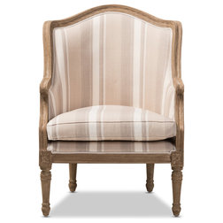 Traditional Armchairs And Accent Chairs by Baxton Studio