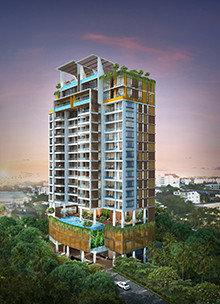 Myat mingalar condominium in yangon myanmar for Home design in yangon