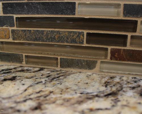 Kitchen Renovation, Lakewood, Ohio #1 ~ Waypoint Cabinetry - Tile