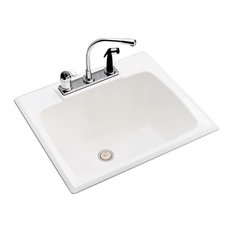 E. L. Mustee & Sons, Inc. - Mustee, E. L. Drop-In Laundry Tub 10 - Utility Sinks